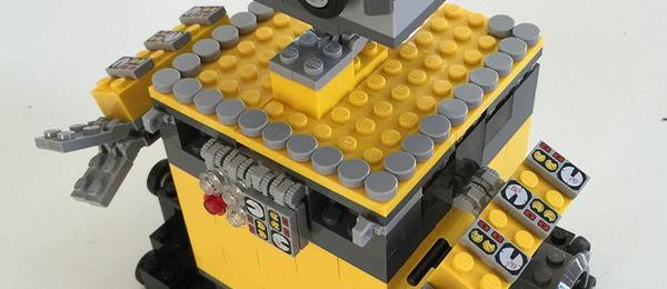 Had a blast building a custom #LEGO WALL-E for my…