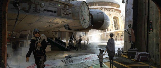 Can't wait for this… Star Wars-Themed Lands for…