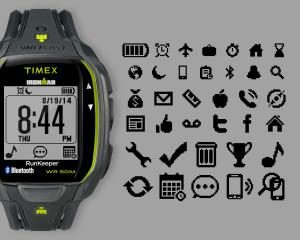 Timex RUNx50 Icons