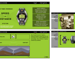 Timex Speed + Distance Micro-Site